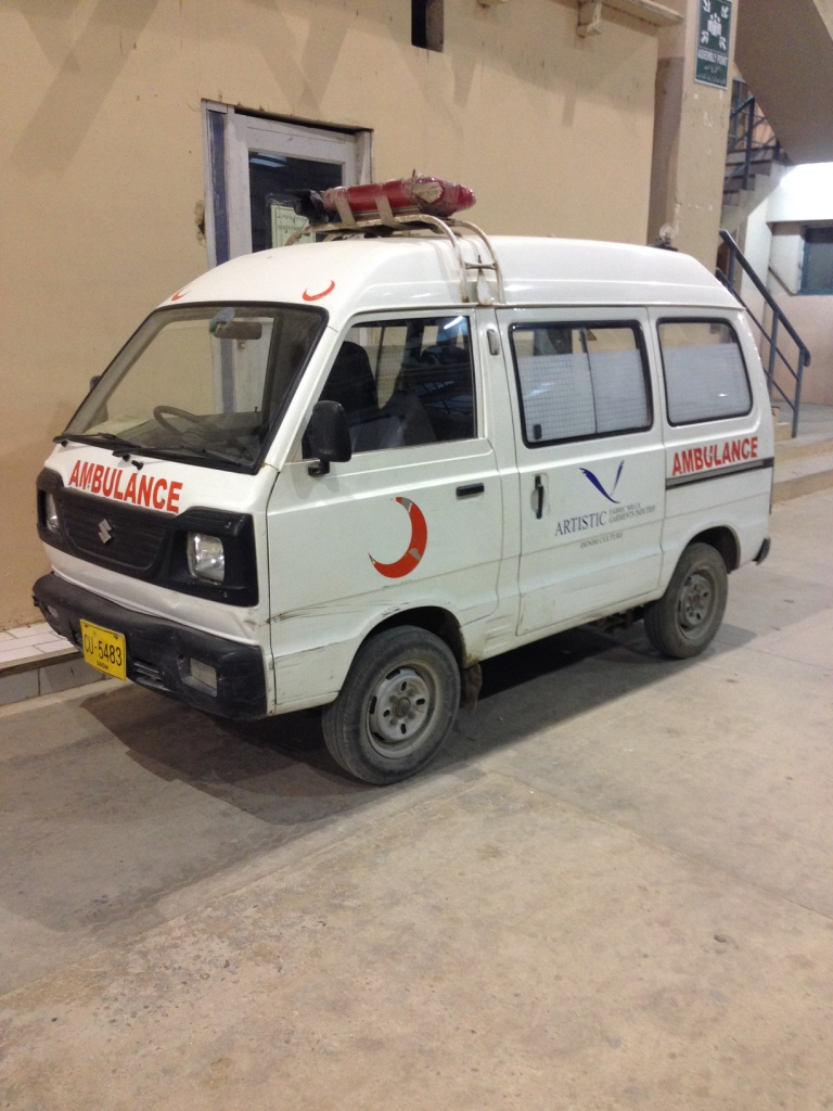 AA little ambulance
