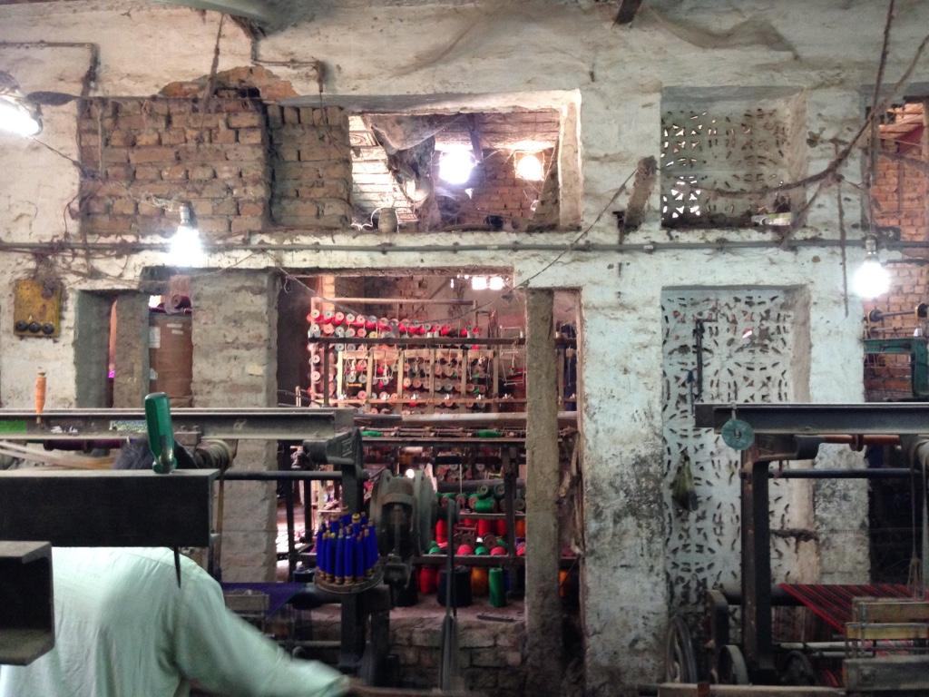 EE cave weave room