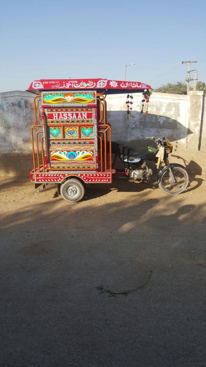 GG rickshaw
